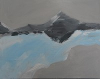 Mountain Series No 9 40 x 50 cms