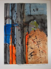Stations of the Cross I, Silk Screen Monoprint on Paper, Framed, £300
