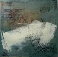 Untitled, ref 050508, Encaustic on Canvas, 60 x 60 cms, £400