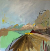 Norfolk Series No 4, Acrylic on Canvas, 50 x 50 cms
